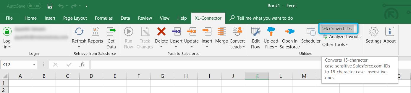 Salesforce XL-Connector