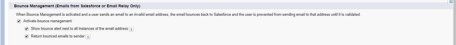 Salesforce Email Management