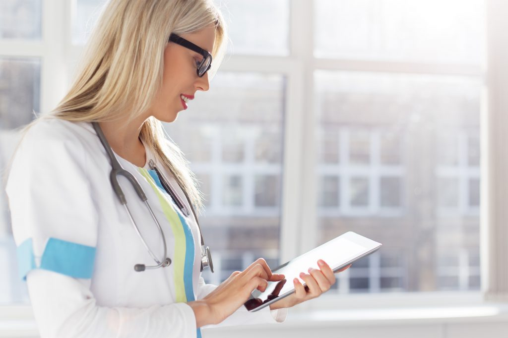 Using tech to improve physician burnout