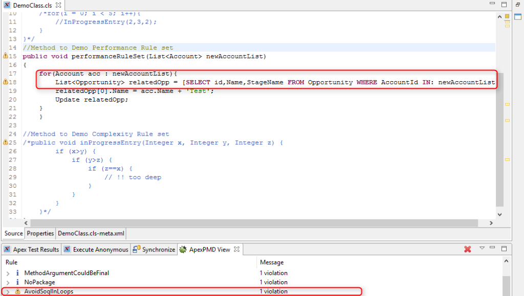 programming mistake detector