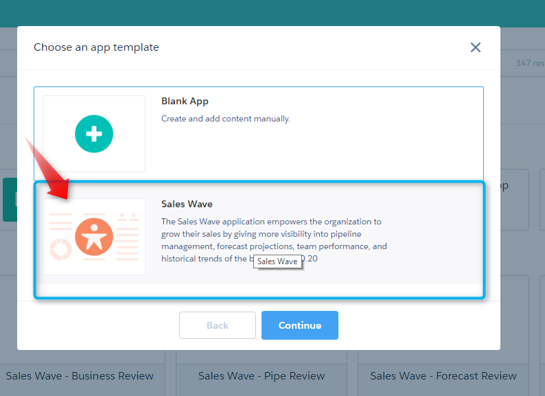 sales wave app