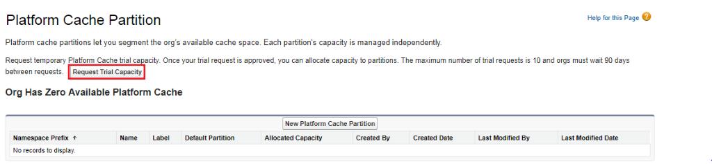 Platform Cache