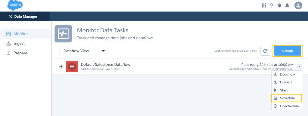 data flow optimization
