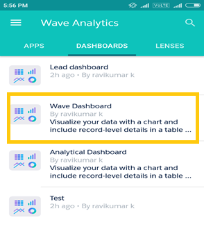 wave analytics for android