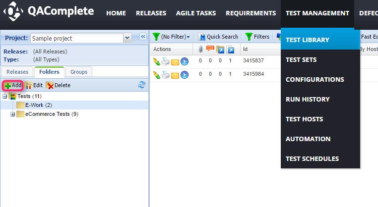 qa test management tool