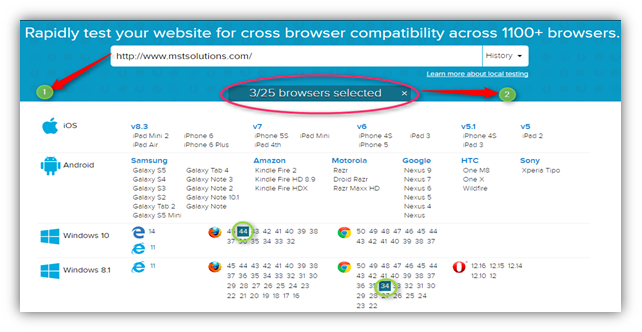 browser compatibility testing