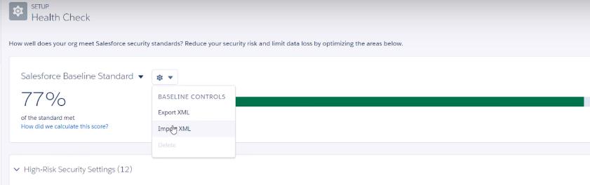 salesforce standard security