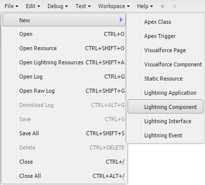 building lightning components salesforce