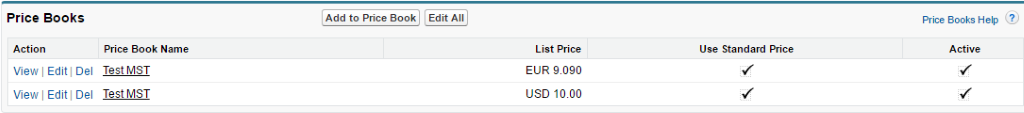 multi currency salesforce