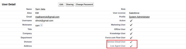 salesforce live agent
