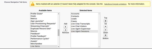 salesforce live agent features