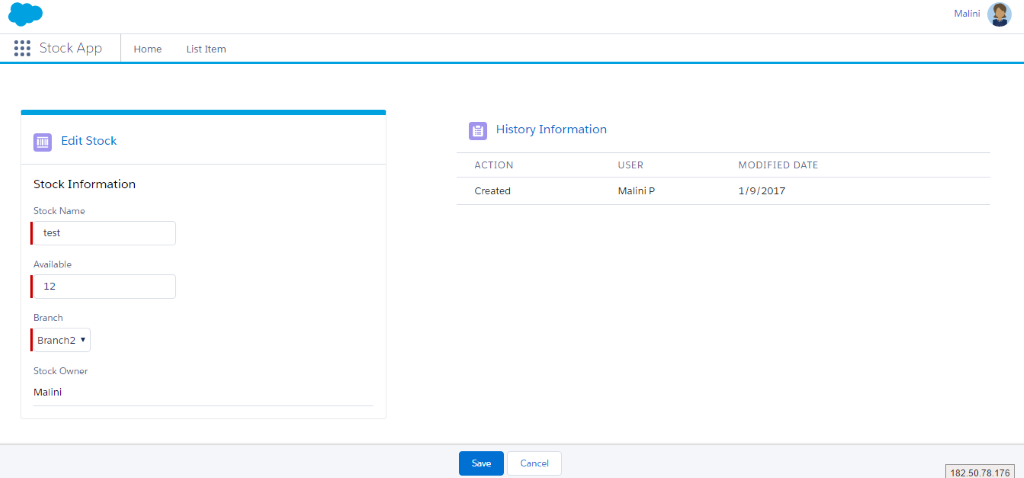 salesforce lightning design system examples