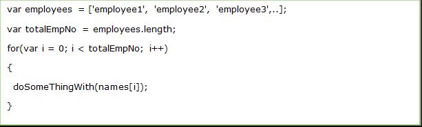 javascript variable declaration best practices