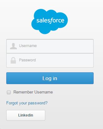 salesforce single sign on
