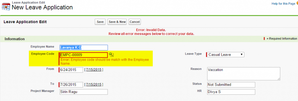 Testing Custom Application using Selenium Web Driver