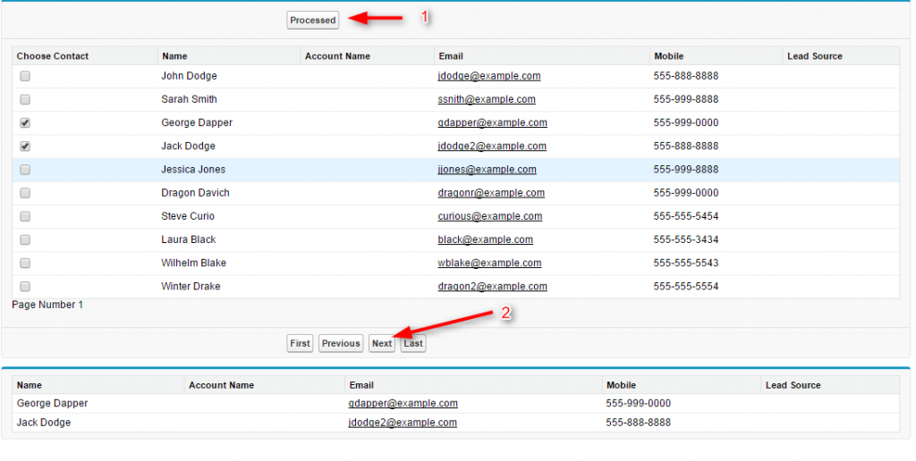 what is pagination in salesforce