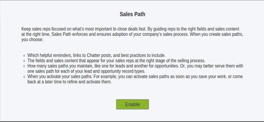 Sales Path