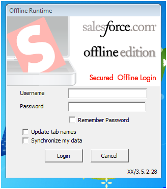 salesforce offline mode