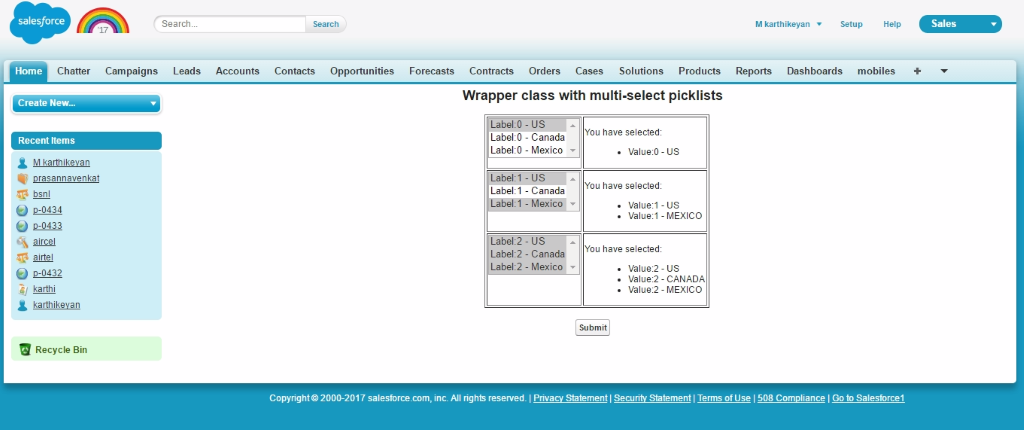 wrapper class in salesforce