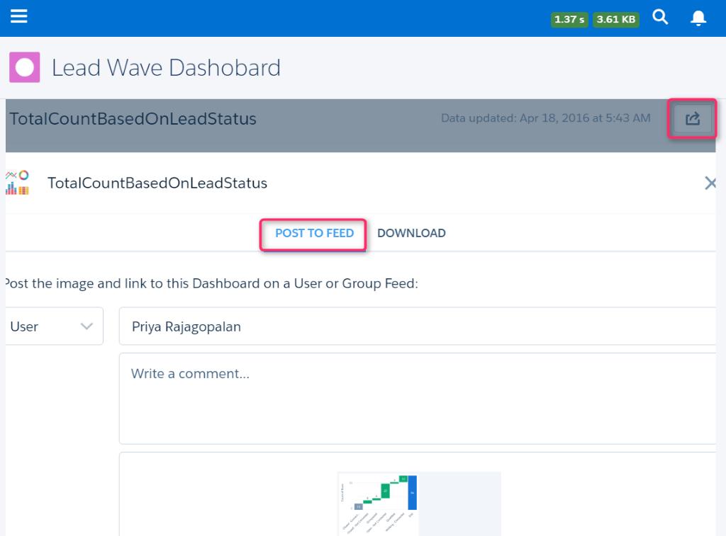 wave dashboard