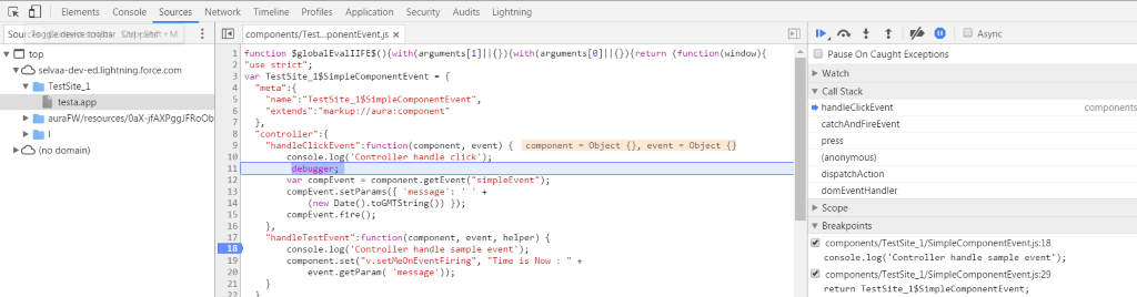 salesforce lightning components