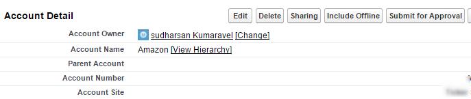 single contact multiple accounts