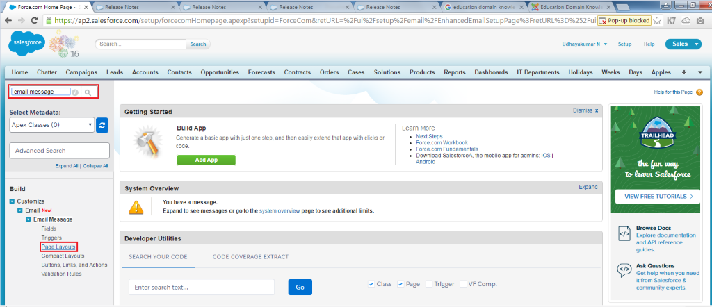 enhanced email salesforce