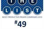 PBJ_most productive private companies 2019